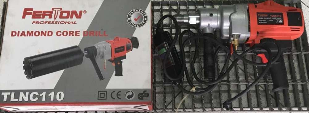 Taladro Saca Nucleos 168mm 2300w Ferton