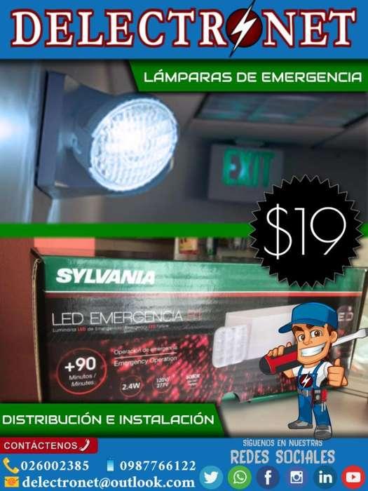 Lámparas de Emergencia Venta Instalación