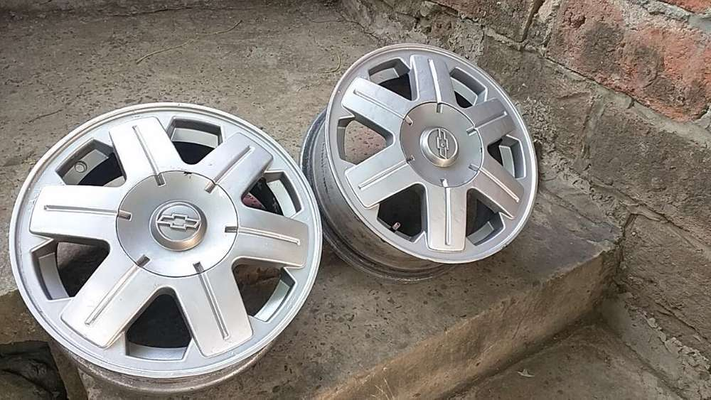 Aros 14 Chevrolet Originales