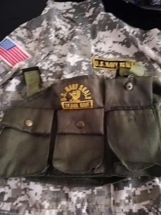 Disfraz Soldado Americano