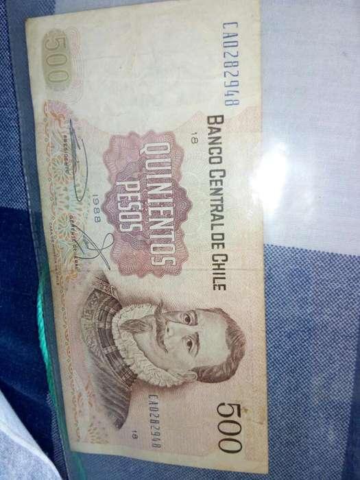 Billetes Y Monedas de Mexico Y Chile