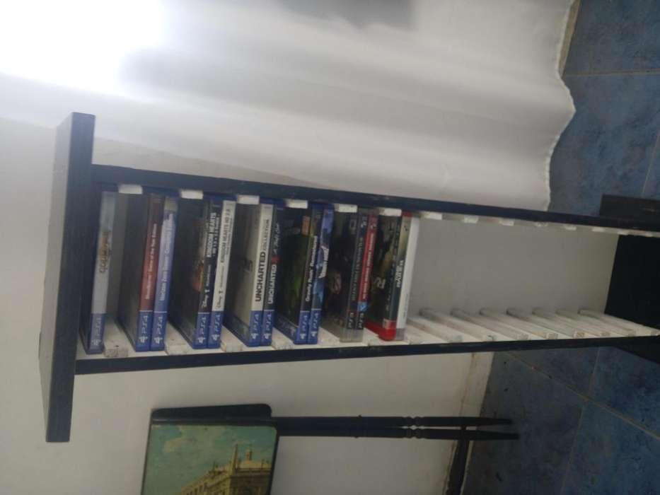 Mueble estante porta juegos ps3/ps4