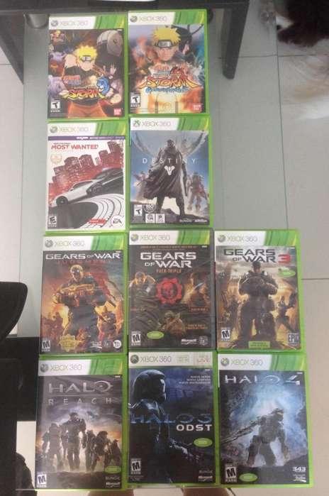 Paquete Juegos Xbox