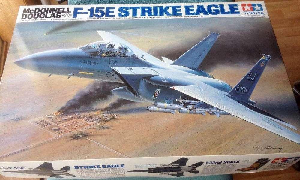 Tamiya F15E Strike Eagle 1/32