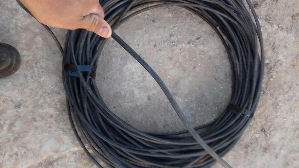 Vendo Cable de Aluminio Forrado de 25mm
