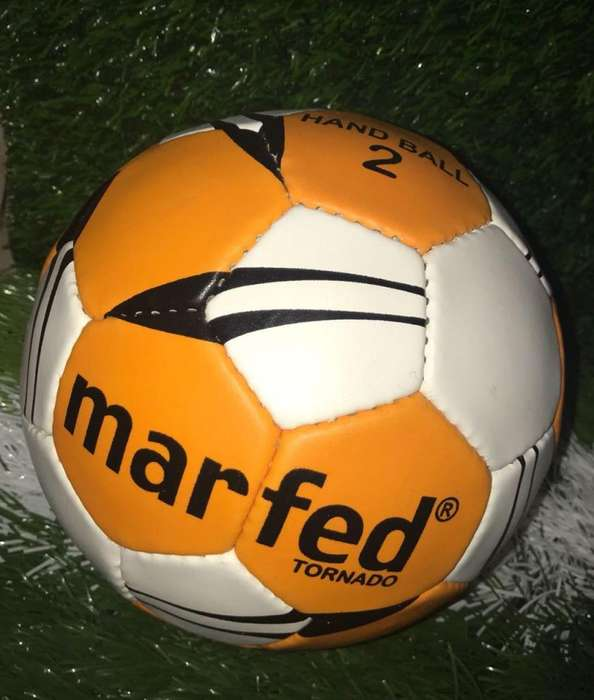 Pelota Handball 2 Profesional Marfed Cuero PU