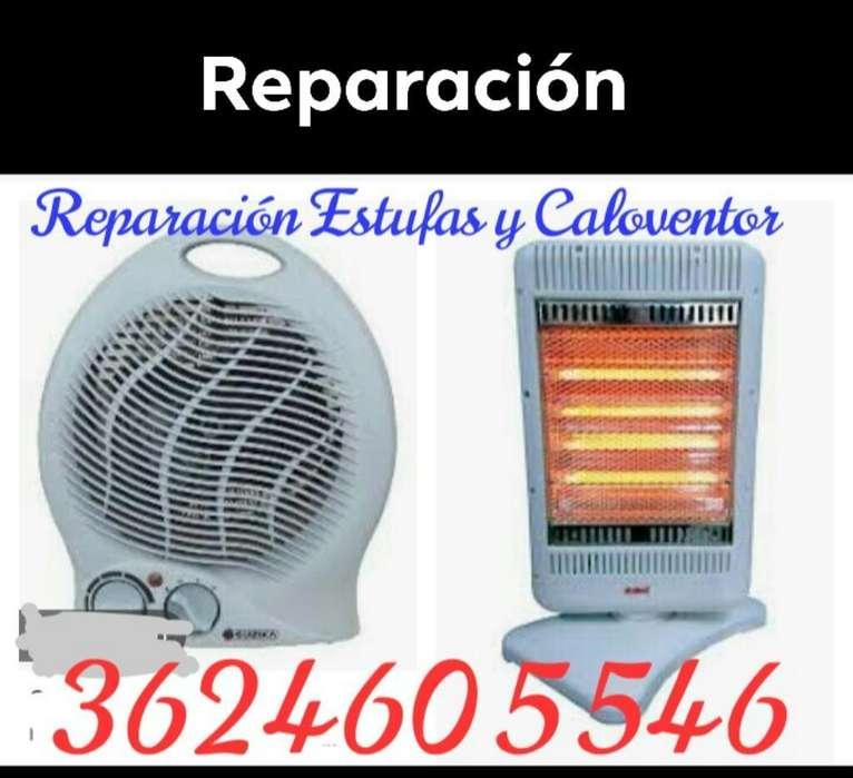Reparación de Estufas Y Caloventor.