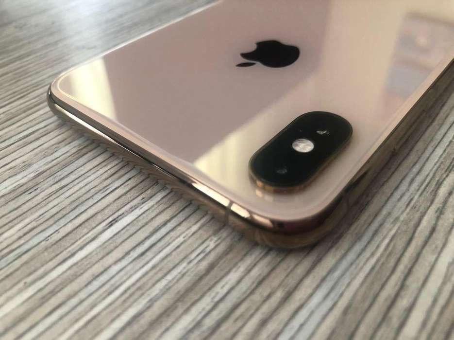 iPhone Xs Max Gold Como Nuevo