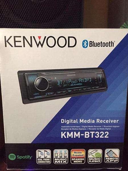 Radio Kenwood Kmm-bt322