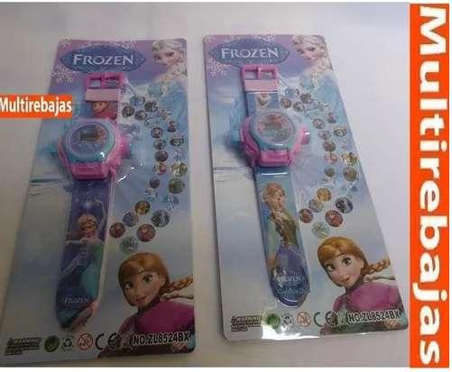 Reloj De Princesas Disñey Frozen