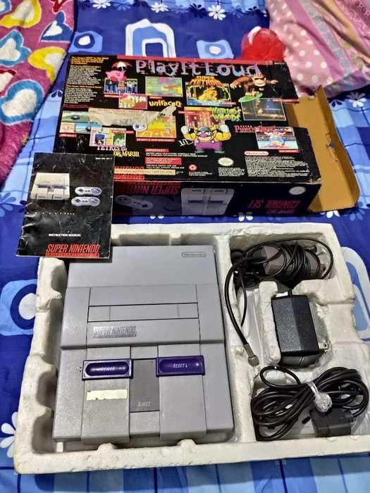 Super Nintendo en Caja