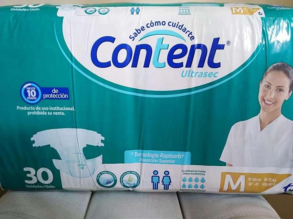 Pañales Content X 30 Incontinencia Fuert