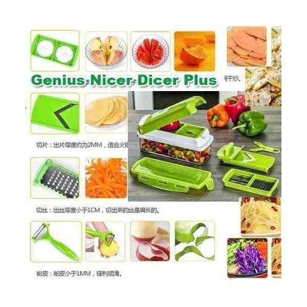 Nicer Dicer Plus,Ayudante De Cocina Picador Libro Ensaladas