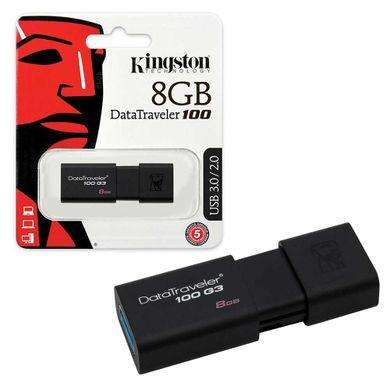 USB 8GB KINGSTON clase 10