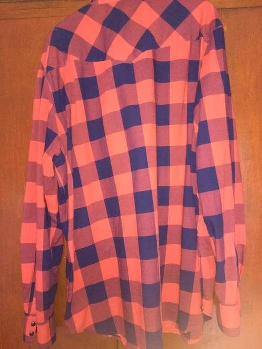 Camisa Escocesa <strong>levis</strong> Original Xxl