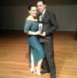 Show de tango, bailarines de tango profesional Campeones Nacionales de Tango Salón Profesional, Manizales 2018