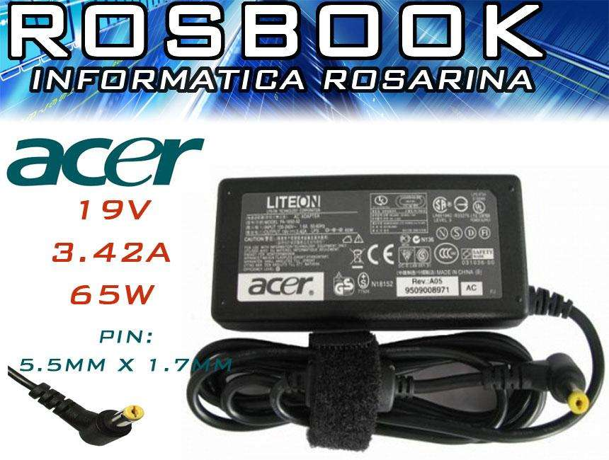 Cargador Notebook Acer Ac21 Aspire 5551 5742 5750 5315