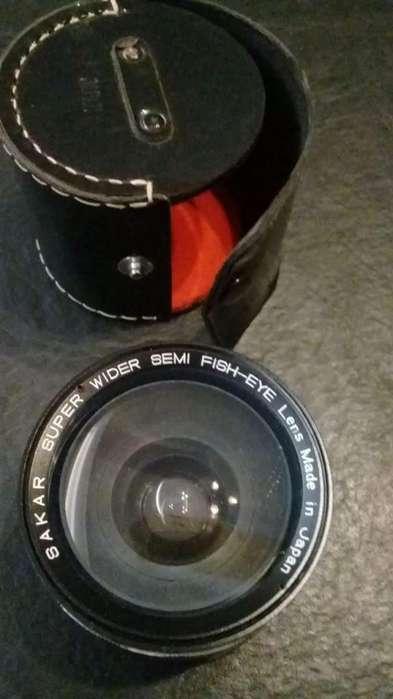 Lente Auxiliar Semi Fisheye Sakar lens made in japan