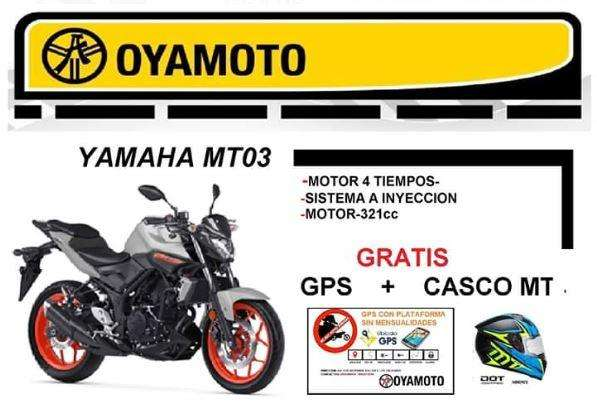 Moto Yamaha MT03 Gratis GPS y <strong>casco</strong> MT
