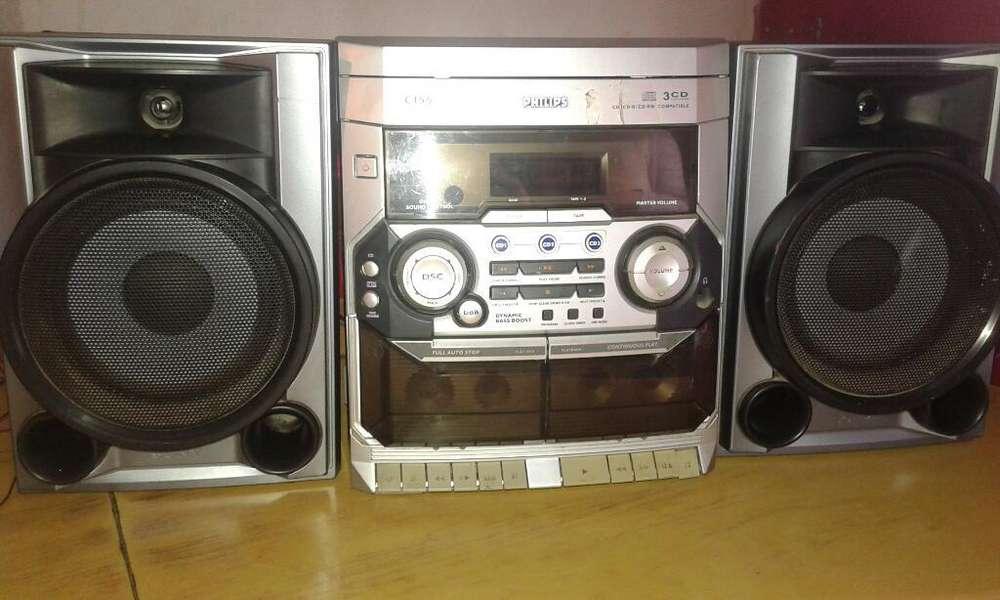 Equipo de Musica Audio