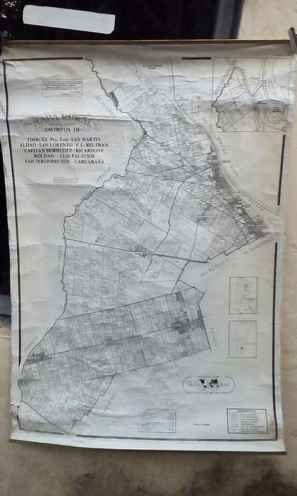 Vendo Mapa Rural de Tela
