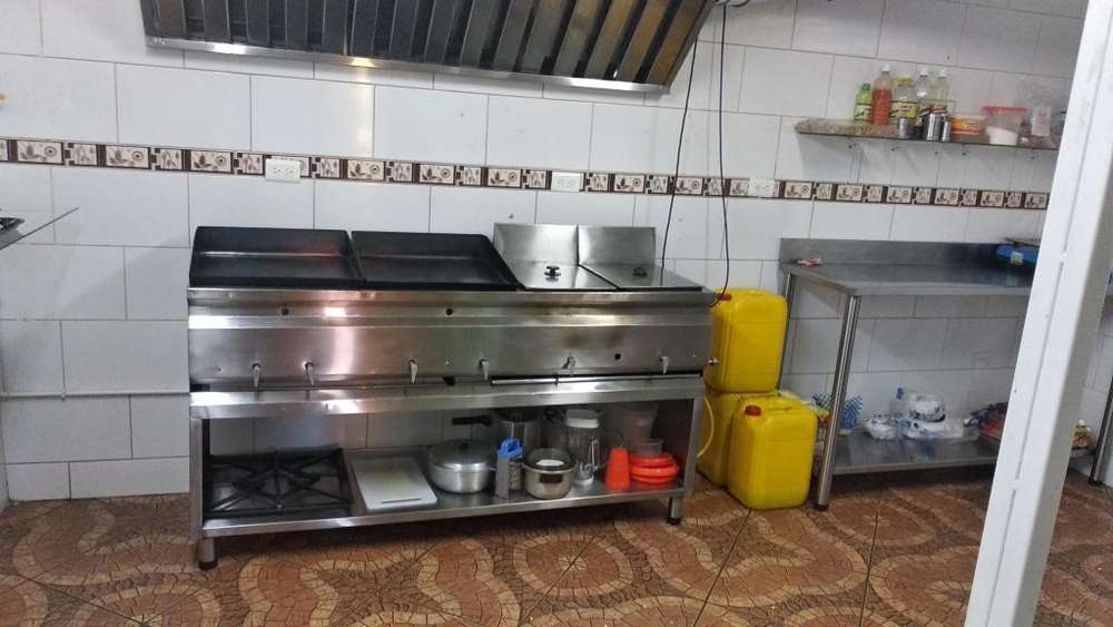 Combo Cocina en Acero para Restaurante