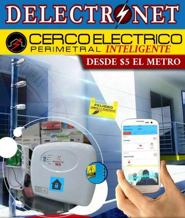 Cercas Eléctricas Inteligentes Control desde Aplicación Celular