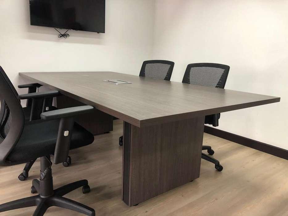 Mesa sala de juntas 8 puestos (Solo mesa) no incluye <strong>silla</strong>s