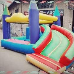 Alquiler de juegos inflables,cama elastica, metegol, tejo, ping pong,