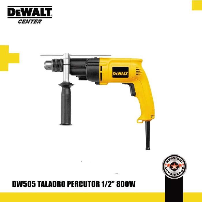"DW505 TALADRO PERCUTOR 1/2"" 800W"
