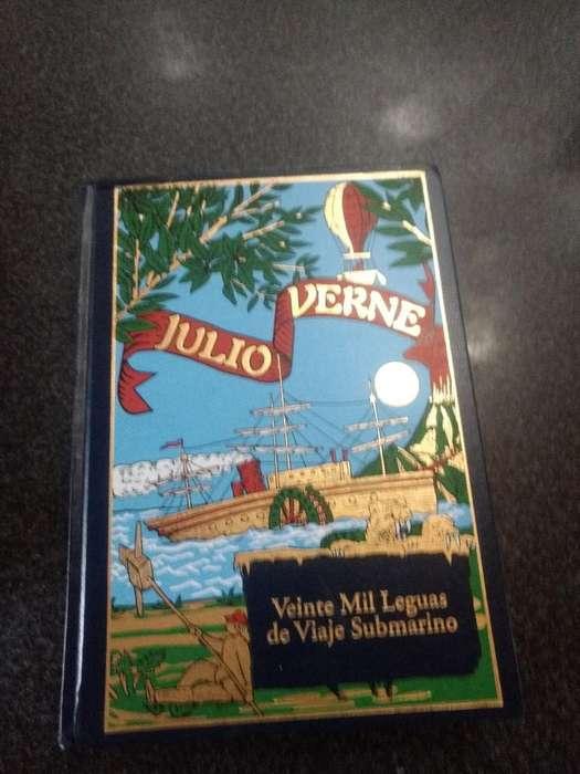 Libro de Julio Verne.