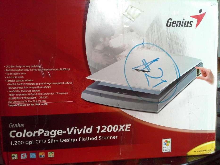 Scaner Genius Color Pege 1200 dpi.