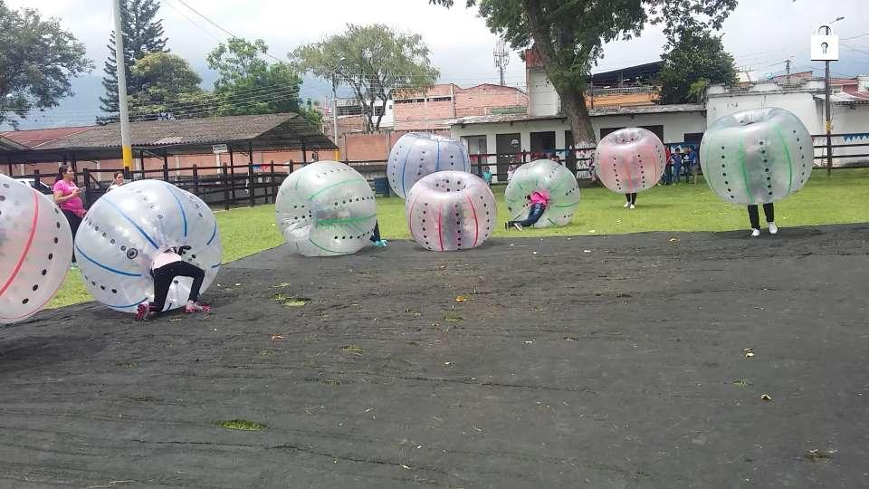 BUMPER BALL PELOTAS CHOCONAS