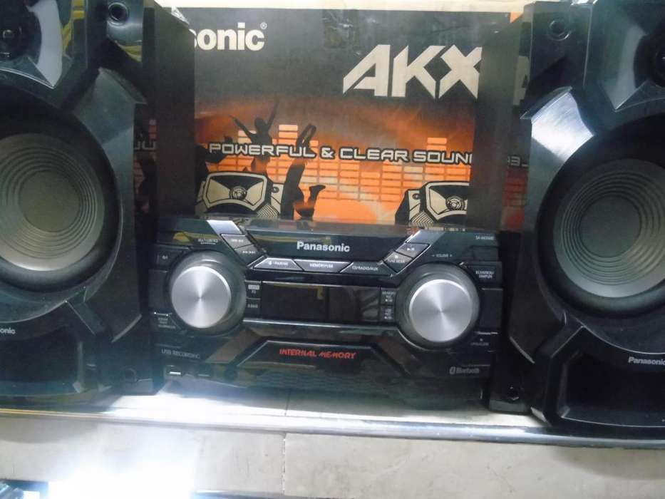 equipo Panasonic AKX 440 como nuevo