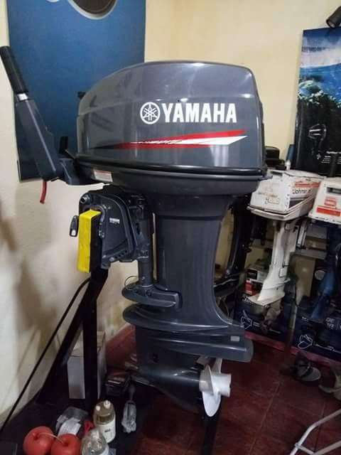 motor yamaha fuera de borda 25