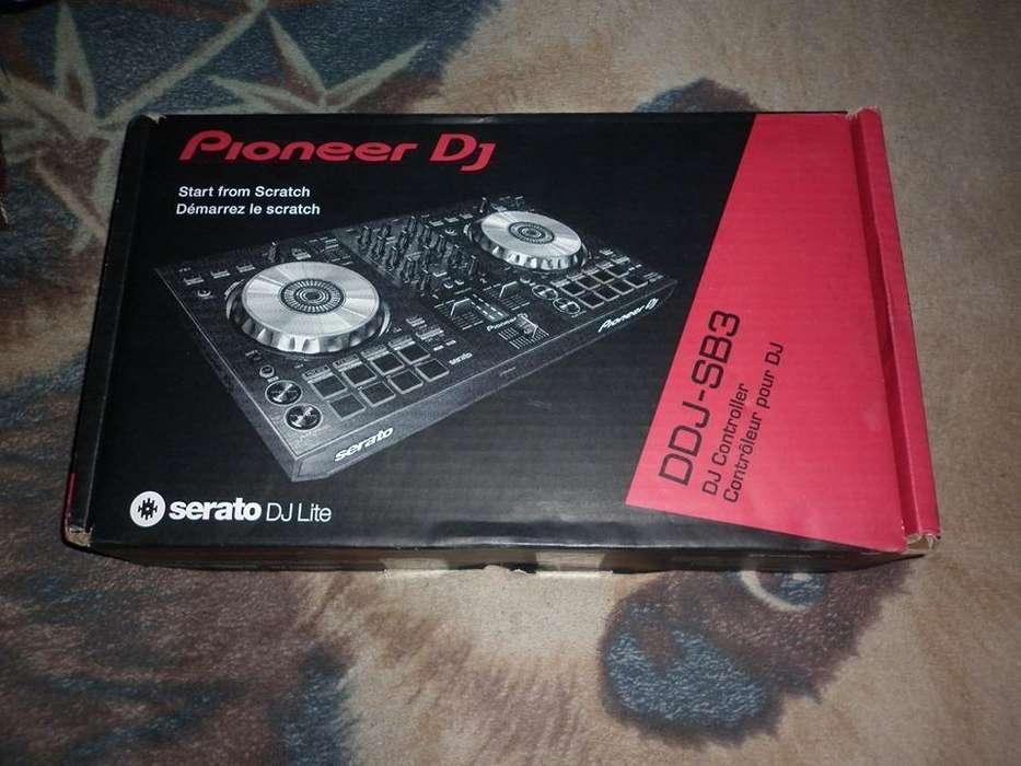 Controlador Dj Pioneer Dj Ddj-sb3 - Negro