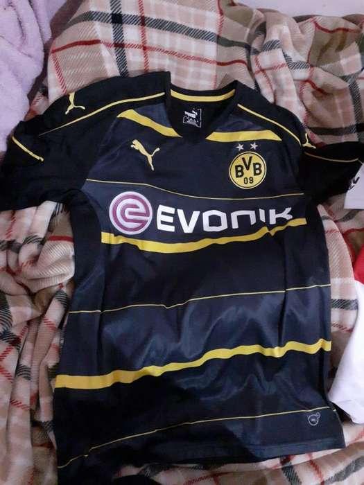 Camisetas River Plate y Borussia Dormund Originales talle M