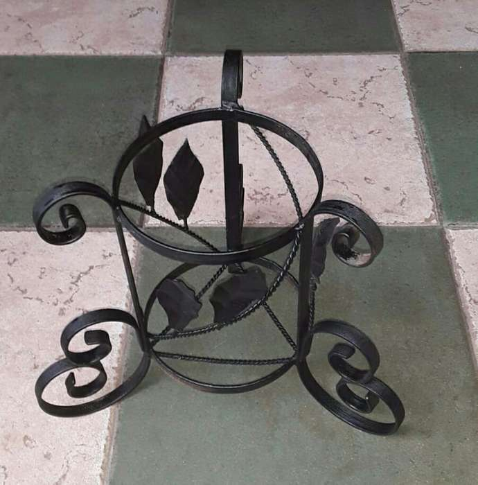 2 Candelabros Hierro Forja
