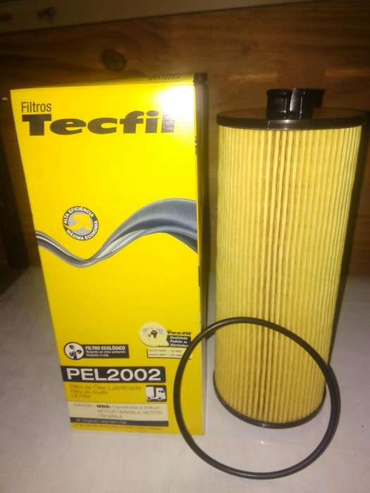 Filtro De Aceite Tecfil Pel2002 mann Hu945/2x Para Mb 1624