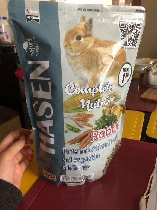 Comida para Conejo Junior Marca Hasen