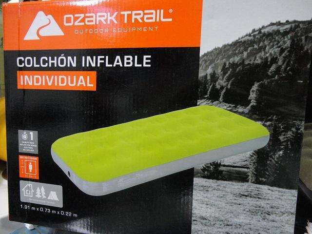 colchon inflable individual ozark trail nuevo cod6158 asch