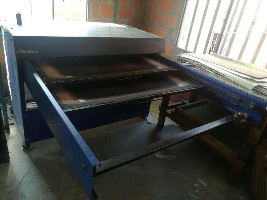 plancha para sublimación de doble bandeja automática