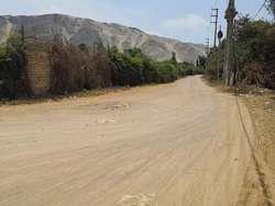 Venta de Terreno de 8,370 m2 en Chancay carretera a Huaral