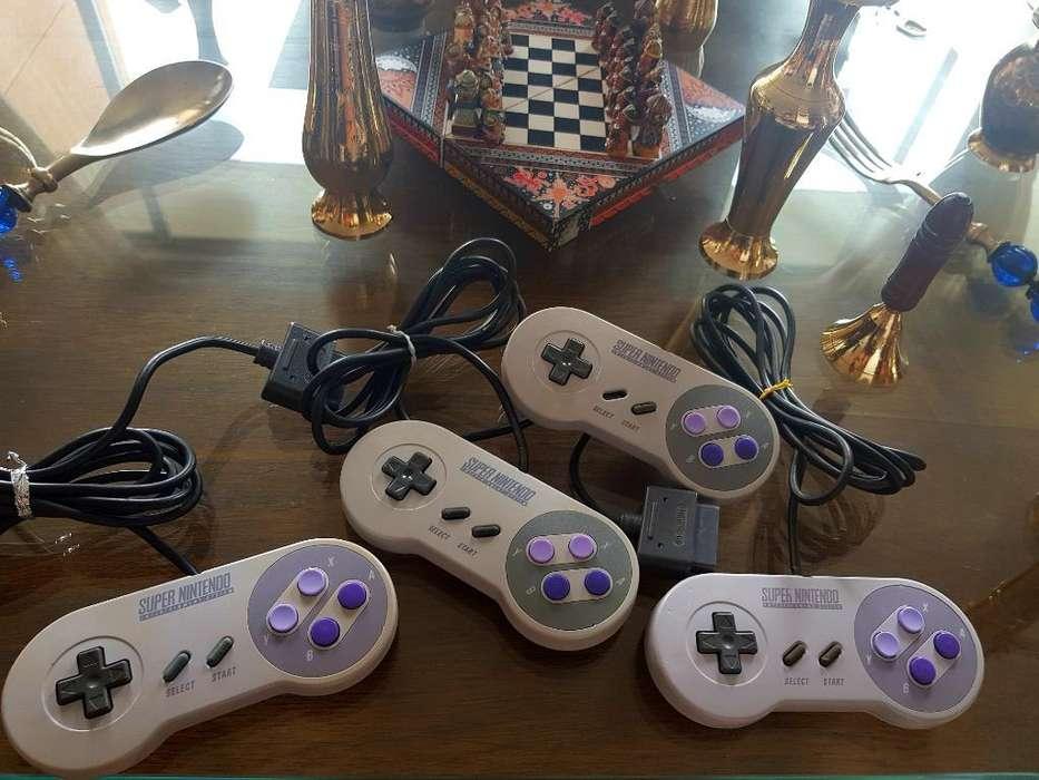 Controles Super Nintendo Originales
