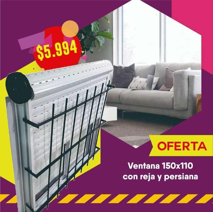 <strong>ventana</strong> Oferta 1.50x 1.10