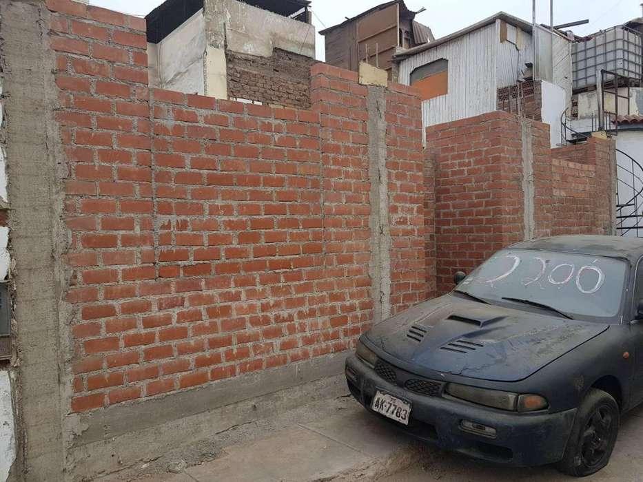 vendo casa semiconstruida a 3 cdras de balneario de Ancon