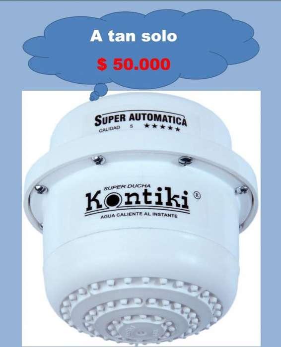 <strong>duchas</strong> electricas kontiki agua caliente al instante pedidos 3104144191