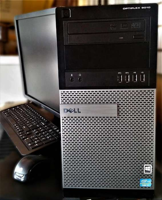 CPU DELL Intel core i7 original con SSD. Unidad de estado solido