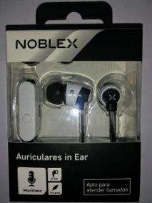 Auriculares In Ear Noblex
