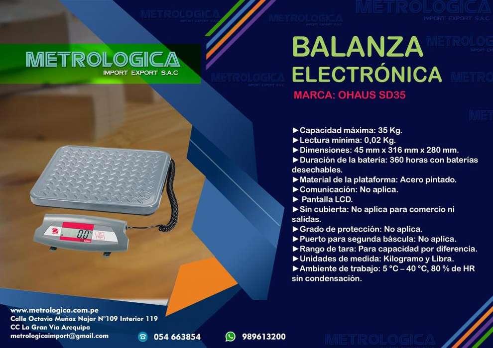 Balanza Electrónica para cajas pequeñas